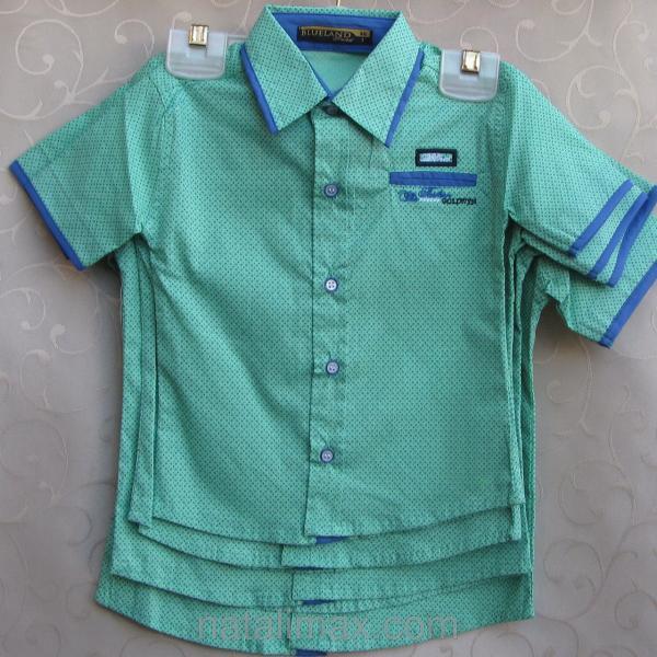 """Рубашка """"Blueland"""" для мальчика 1-4 лет"""