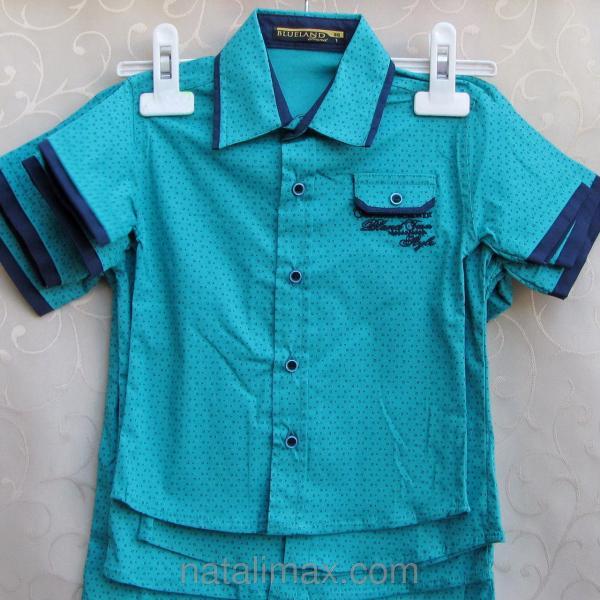 """Рубашка """"Blueland"""" для мальчика 1-4 лет,Турция"""