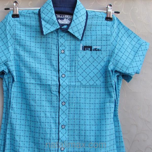 """Рубашка """"Blueland"""" для мальчика 5-8 лет,Турция"""