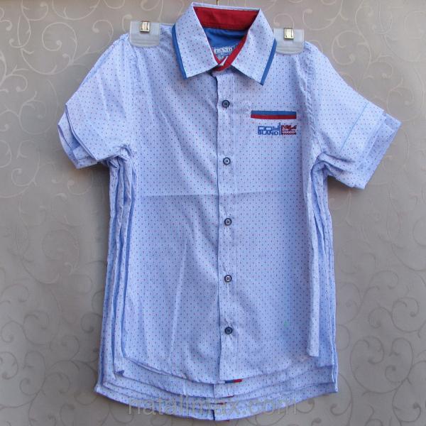 """Рубашка """"Blueland"""" для мальчика 5-8 лет"""