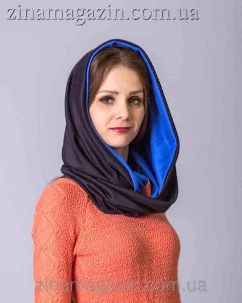 Шарф-Снуд (синий)