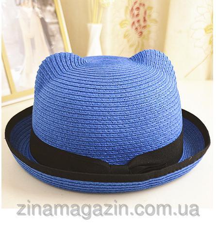 Летняя шляпа с ушками