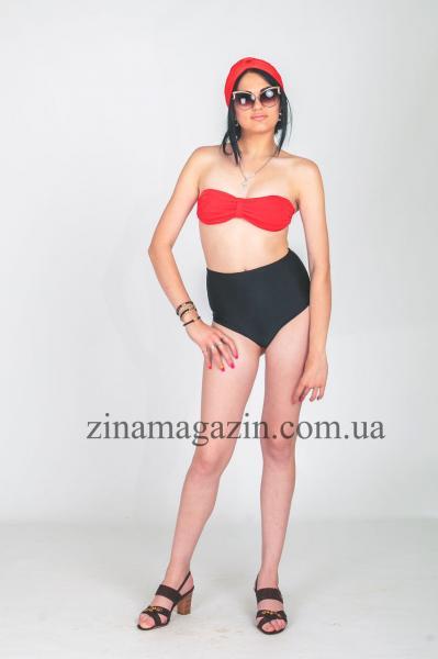 Женский купальник с завышенной талией