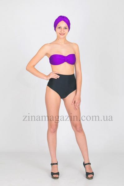 Женский купальник фиолетовый