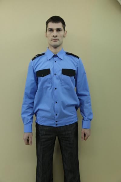 Рубашки охранника мужские