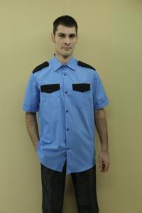 Фото  Рубашки охранника мужские