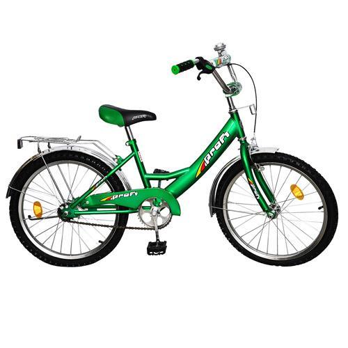 """Велосипед PROFI детский 20"""" P 2042 (1шт) зеленый, звонок, подножка"""