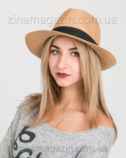 Летняя шляпа федора