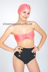 Фото Купальники Женский купальник с декором из пуговиц