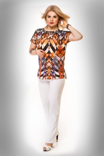 Блуза Блуза-туника калейдоскоп