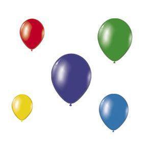 19999999 Кульки надувні (5 кольорів)