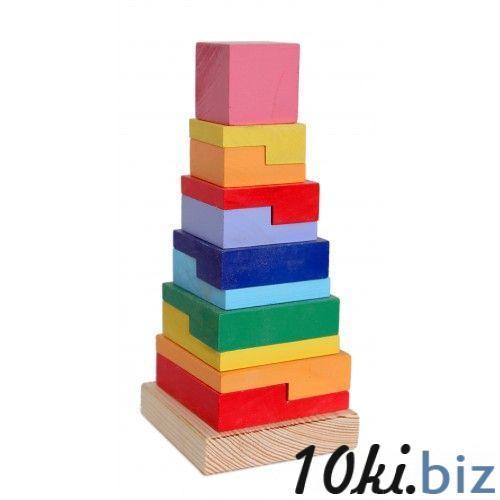 13200007 Піраміда  Квадрат РУДІ, цена фото купить в Киеве. Раздел Пирамидки