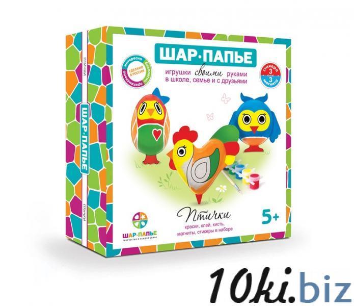 """Набор шар-папье Магнит """"Птички"""" купить в Туле - Детские наборы для творчества с ценами и фото"""