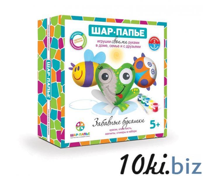 """Набор шар-папье Магнит """"Забавные Букашки"""" купить в Туле - Детские наборы для творчества с ценами и фото"""