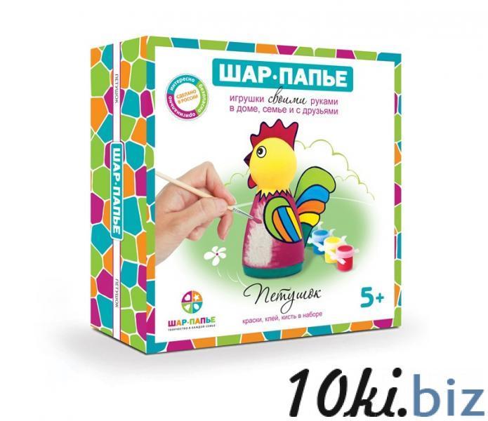 """Набор ШАР-ПАПЬЕ  """"Петушок"""" купить в Туле - Детские наборы для творчества с ценами и фото"""