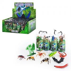 Фото Игрушки, Фигурки разные             HU Животные HD 001-041 (240шт) 5 видов, 24 шт в дисплее, 34-22-14см