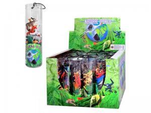 Фото Игрушки, Фигурки разные             HU Животные HD 002-042 (144шт) 5 видов, 24шт в дисплее, 32-22-21,5см