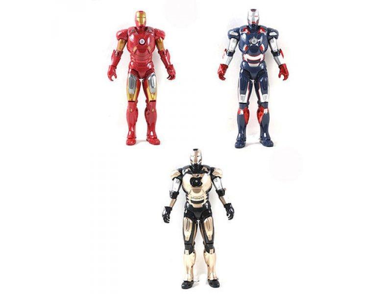 Супергерой FX 1223-4-5-1 D (96шт) IM, свет, 3 цвета, в кульке, 31-12-6см
