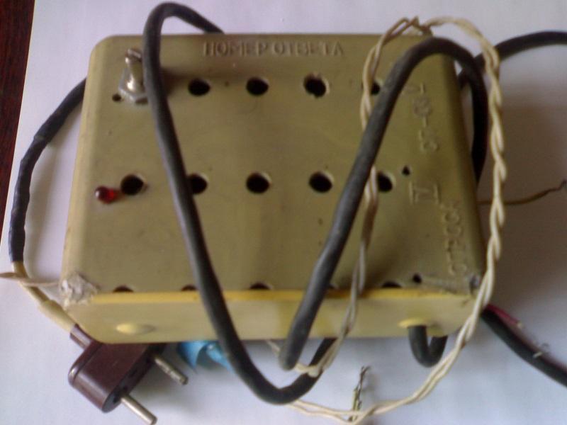 1. Терморегулятор на инкубатор