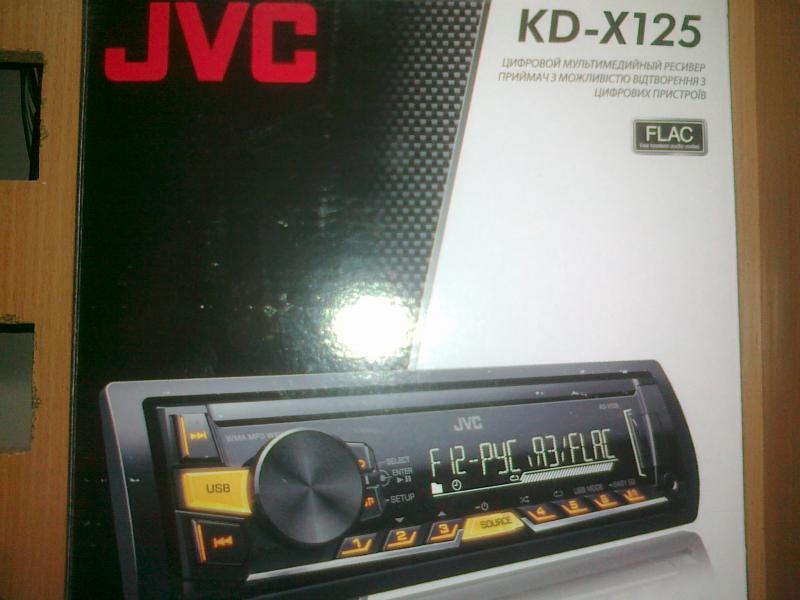 Автомагнитола JVC kd-х125