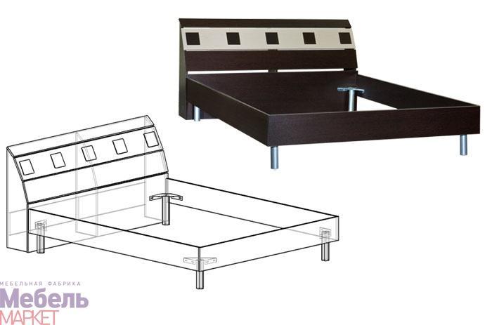 спальня версаль кровать 1400маркет купить в севастополе цена
