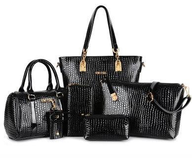 4bbe6cbd72c9 Набор сумок (6 в 1) Экокожа, Купить в Дзержинске, цена 2100 руб./шт ...