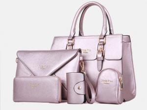 Фото  Набор сумок (5 в 1) Экокожа
