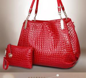 Фото  Набор сумок (2 в 1) Экокожа