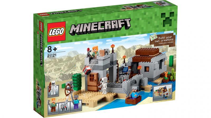 ЛЕГО 21121 LEGO Minecraft The Desert Outpost
