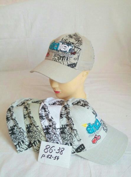 Детская кепка для мальчика р 52-54