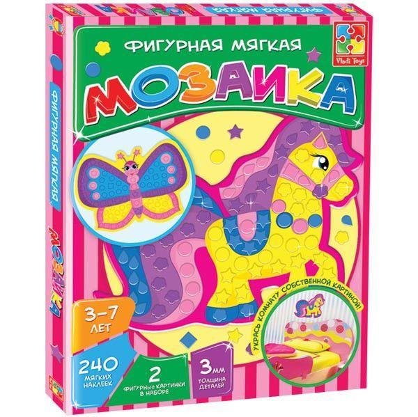 """""""Мозаика"""" (фигурная)  Лошадка VT2301-01 ."""