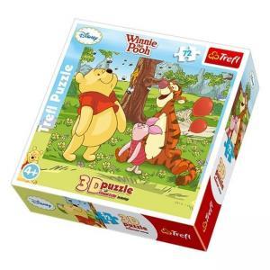 Фото Игрушки, Мозаика, пазлы 3D Пазлы Пчелки и Винни Пух Trefl 35558