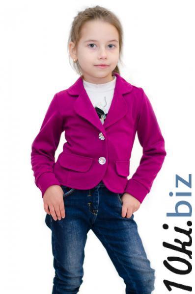 Пиджак детский цветочный принт р.116-140 - Пиджаки детские для девочек в магазине Одессы