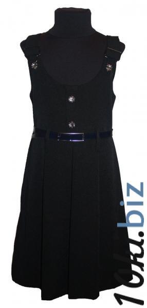 """Школьный сарафан """"Отличница"""" черный - Школьная форма для девочек в магазине Одессы"""