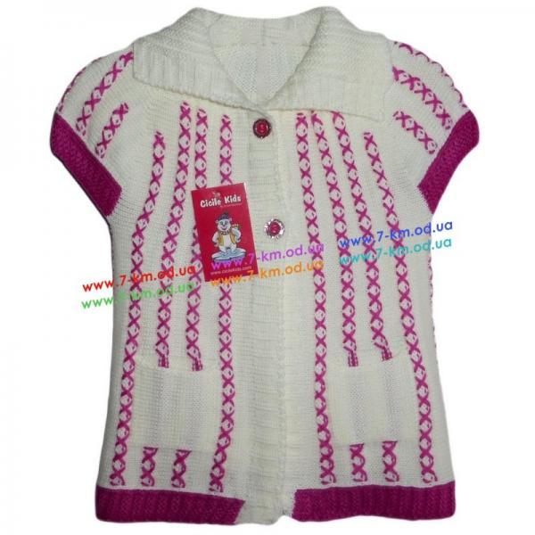 Безрукавка для девочек Vit5101 акрил 3 шт (1-3 года)