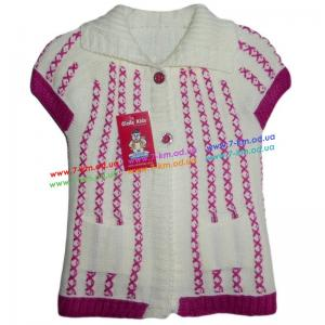 Фото Одежда для Девочек, Безрукавки, Жилетки Безрукавка для девочек Vit5101 акрил 3 шт (1-3 года)
