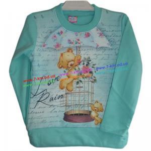 Фото Одежда для Девочек, Батники, Кофты Батник для девочек Vit6644 начёс 4 шт (2-5 лет)