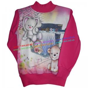 Фото Одежда для Девочек, Батники, Кофты Батник для девочек Vit6687 начёс 4 шт (2-5 лет)