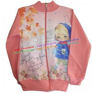 Фото Одежда для Девочек, Батники, Кофты Кофта для девочек Vit6705 начёс 4 шт (5-8 лет)