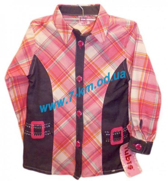 Рубашка для девочек Rom114 коттон (2-5 лет)