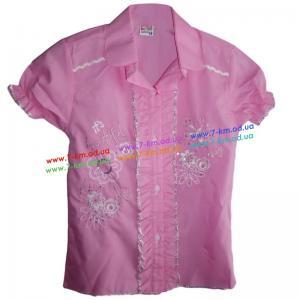 Фото Одежда для Девочек, Блузы, Рубашки, Гольфы Рубашка для девочек Rom280 коттон 4 шт (9-12 лет)