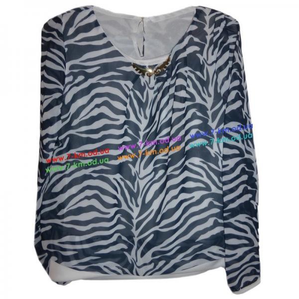 Блузка для девочек Rom5085.1 шифон 4 шт (9-12 лет)