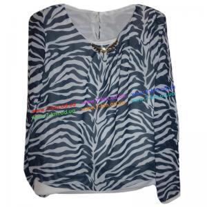 Фото Одежда для Девочек, Блузы, Рубашки, Гольфы Блузка для девочек Rom5085.1 шифон 4 шт (9-12 лет)