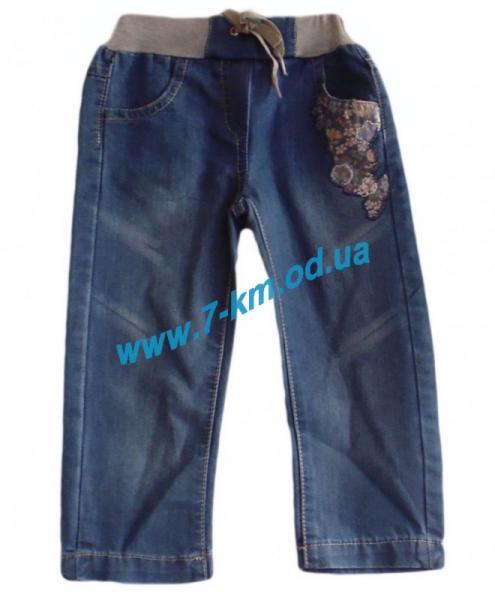 Брюки для девочек Vit0112 джинс 5 шт (2-6 лет)