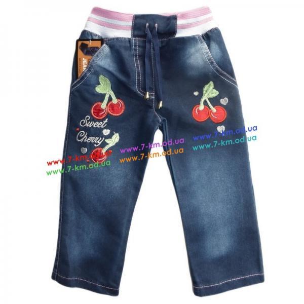 Брюки для девочек Vit1600 джинс 4 шт (2-5 лет)