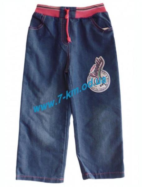 Брюки для девочек Vit2022 джинс 4 шт (7-10 лет)