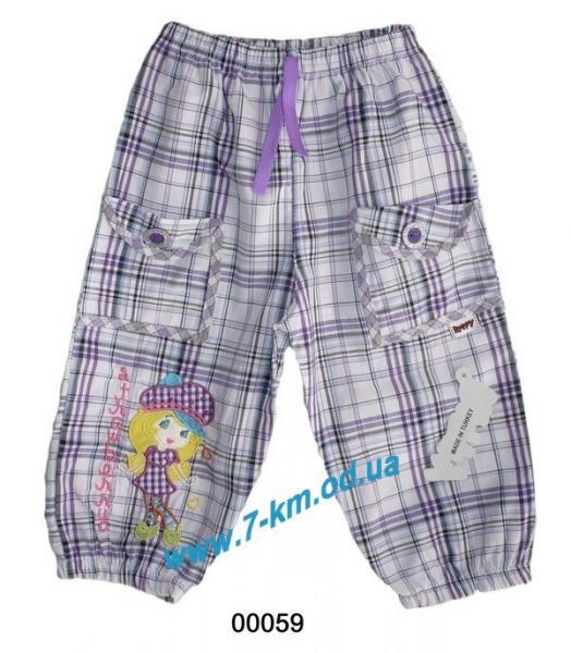 Штаны для девочек Vit00059 коттон 3 шт (4-6 лет)