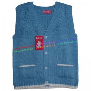 Фото Одежда для Мальчиков, Безрукавки, Жилетки Жилетка для мальчиков Vit7111 акрил 3 шт (1-5 лет)