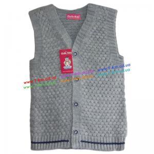 Фото Одежда для Мальчиков, Безрукавки, Жилетки Жилетка для мальчиков Vit7112 акрил 3 шт (1-5 лет)