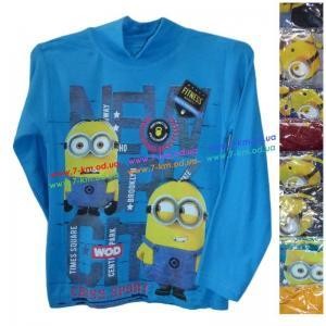 Фото Одежда для Мальчиков, Батники, Кофты Батник для мальчиков Rom1032 коттон 4 шт (5-8 лет)